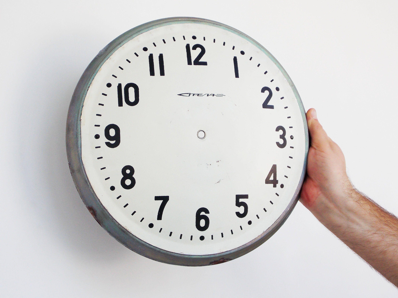 Big Clock faces large white clock dials make clock supply large wall