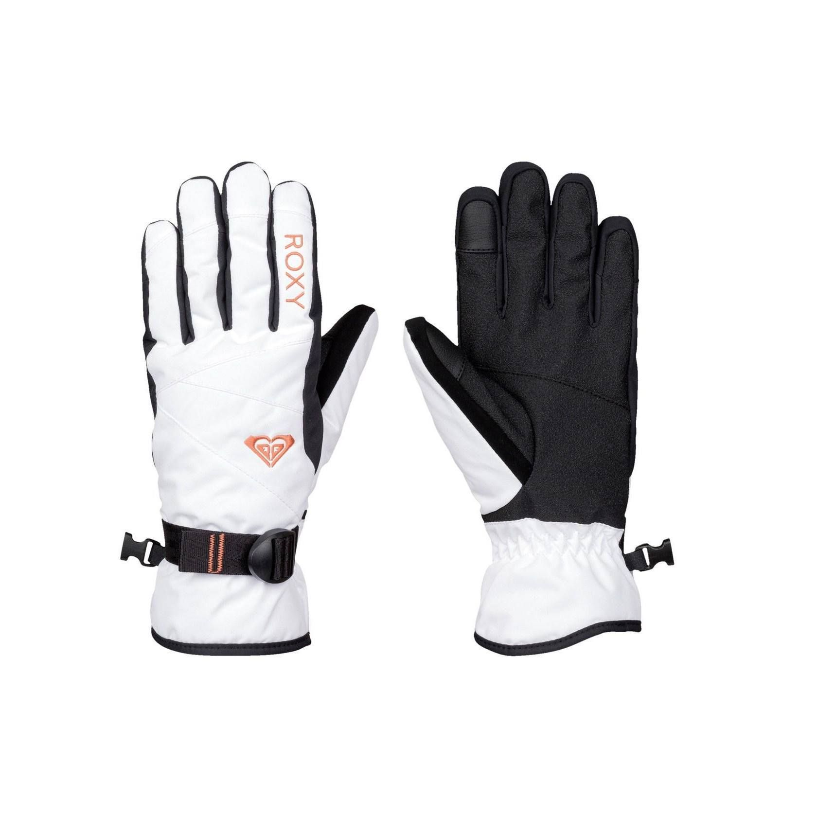 5d4d29d4aec Roxy Jetty Solid Snow Gloves