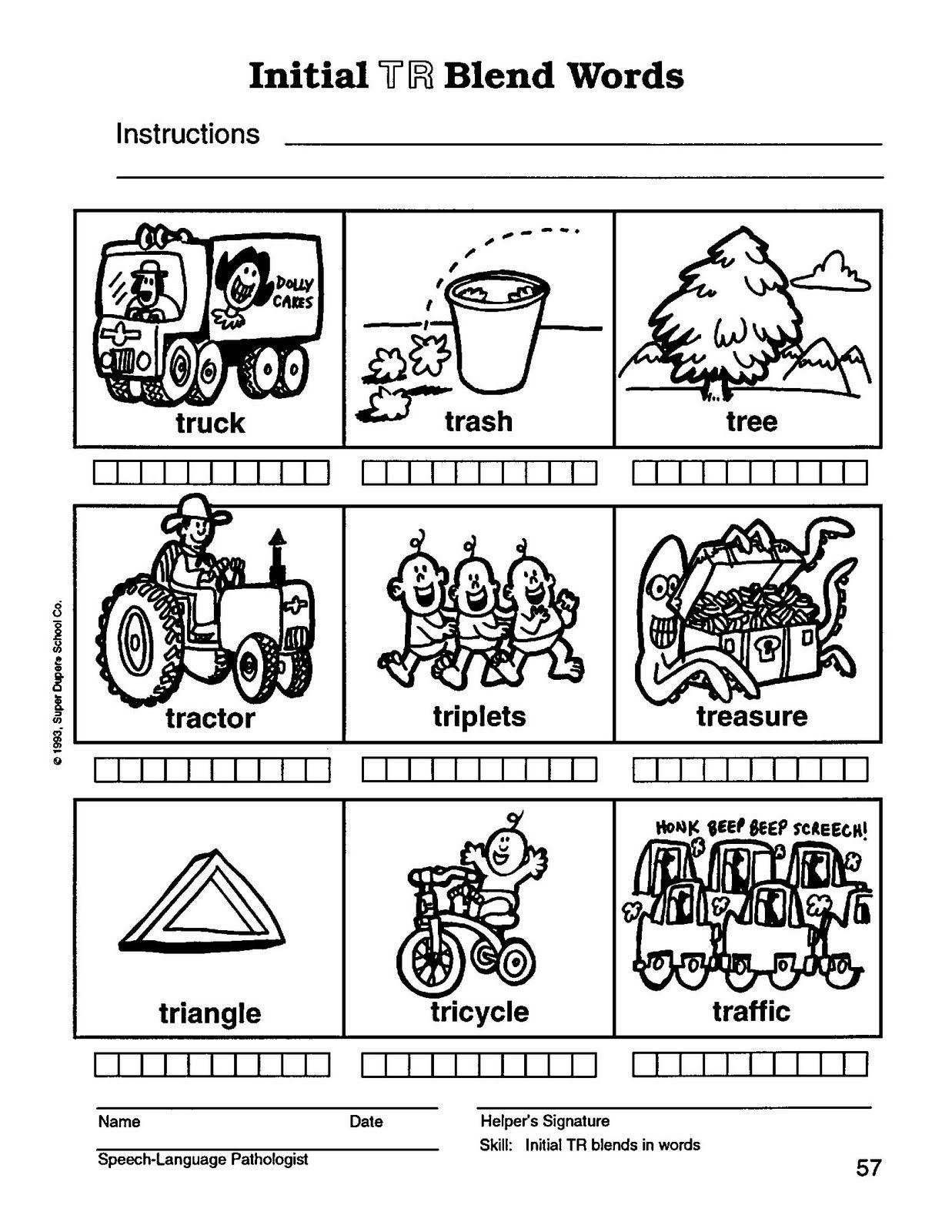 Worksheets S Blends Worksheets r blend worksheets slp articphonology pinterest worksheets