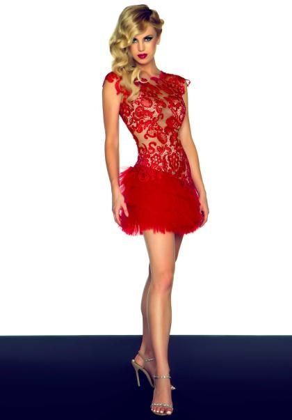 17 Best ideas about Red Cocktail Dress on Pinterest | Summer ...