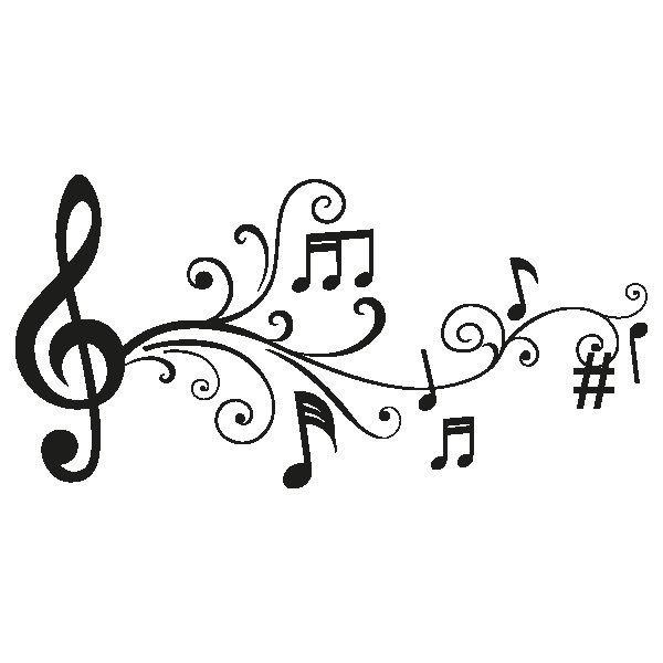 Dibujos notas musicales buscar con google marcar for Vinilos decorativos grupos musicales