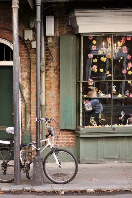 Chartres Street, New Orleans, LA. Laura Steffan Photography #neworleans #frenchquarter #bicycle #chartresstreet