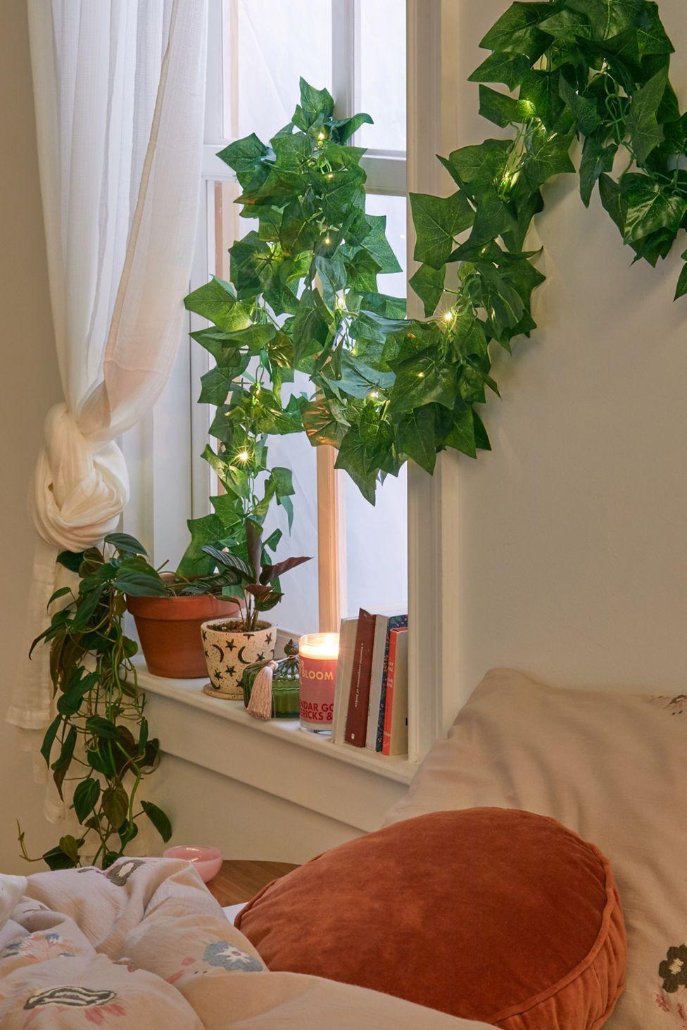 Faux Ivy Leaf Vine Garland