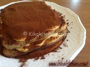 Ricetta Pancake Kikakitchen.Tiramisu Classico Con Caffe E Savoiardi Kikakitchen Ricetta Dolci Ricette Idee Alimentari