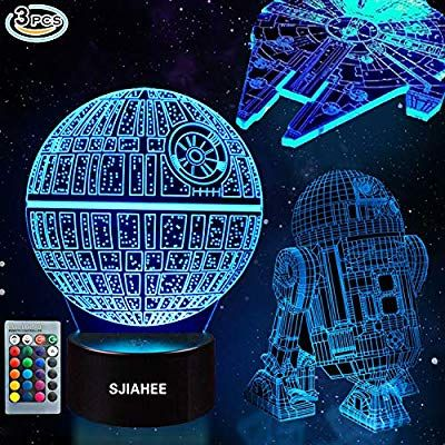 3d Star Wars Lamp Star Wars Gifts Star Wars Light Optical Illusion Led Light Star Wars Lamp Perfect Gif Star Wars Lamp Star Wars Light Star Wars Decor