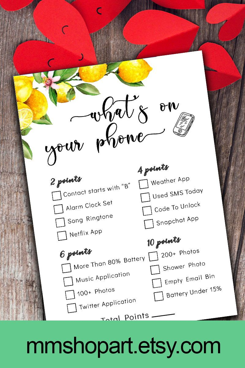 What's In Your Purse,Bridal Purse Game,Shower Purse Game