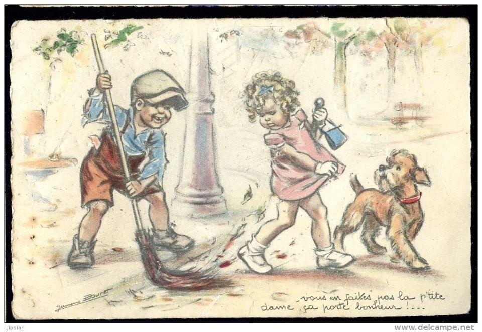 Germaine Bouret | Cartes anciennes, Cartes, Cartes postales anciennes