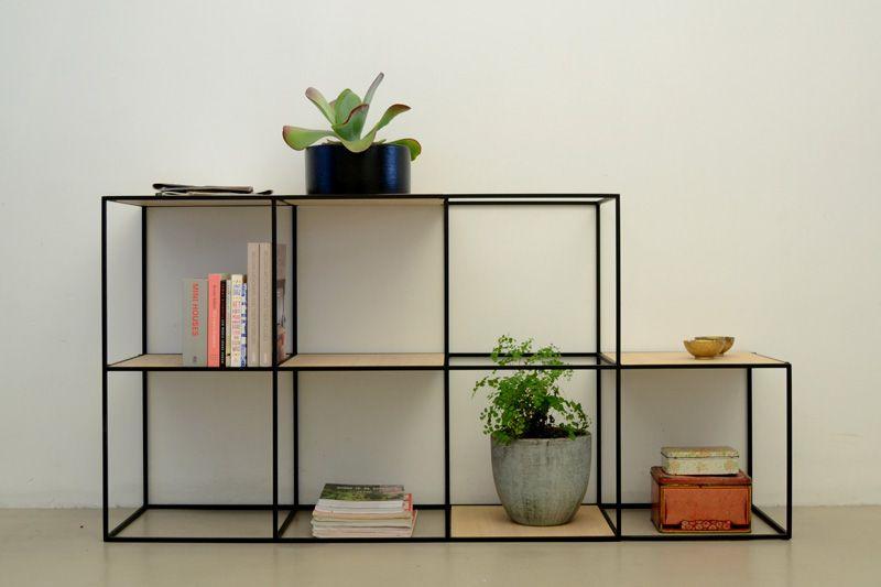 kast kubus meubelontwerp balkon planten mudroom planken sweet home moderne woningplannen
