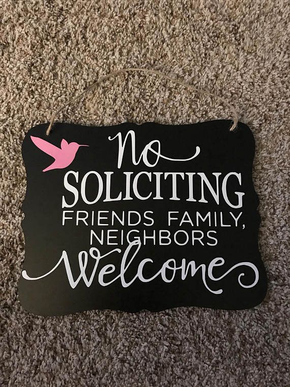 Your place to buy and sell all things handmade #nosolicitingsignfunny