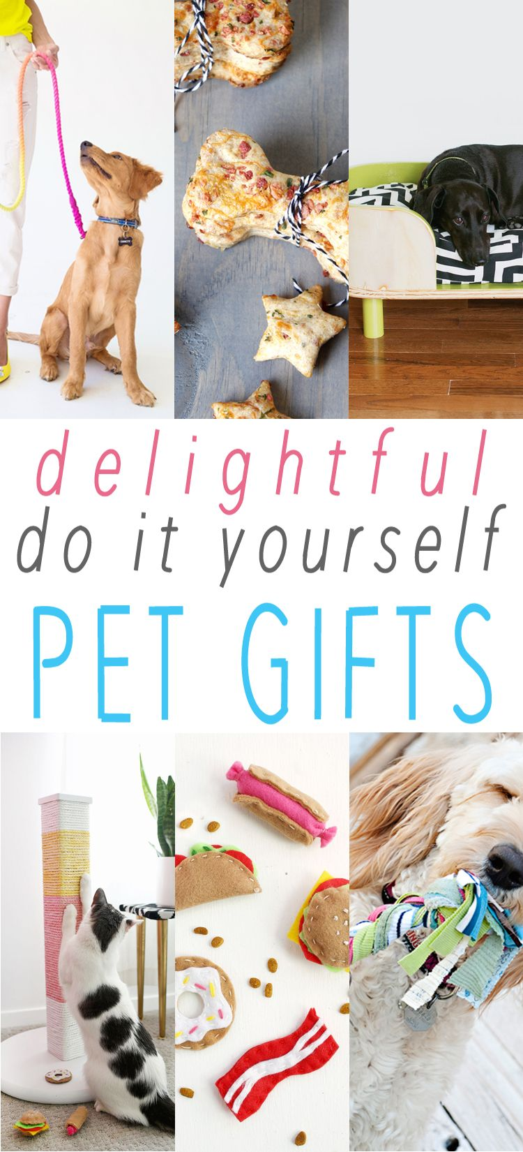 Delightful DIY Pet Gifts   Fluffy things   Pinterest   Pup, Gift and ...