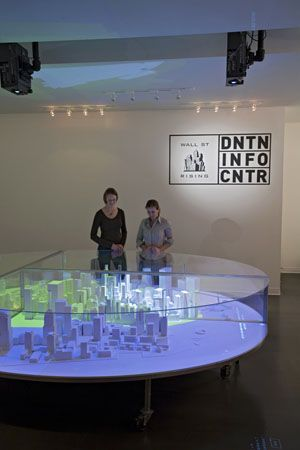 Interactive Model Of Lower Manhattan Wins Idsa Award New