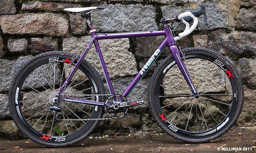 Handmade Aluminum Cyclocross Frame By Stoemper Bikes Via Stoemper