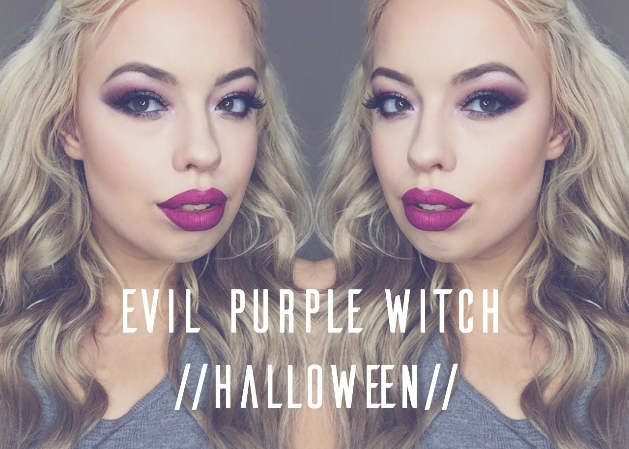 Nice wickedness purple witch halloween makeup tutorial nice wickedness purple witch halloween makeup tutorial drugstorehalloweenmakeuptutorial easyhalloweenmakeup halloween halloweenideas baditri Images