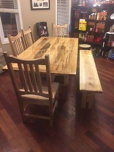 Fantastic Custom Build Rustic Harvest Tables City Of Toronto Toronto Interior Design Ideas Philsoteloinfo