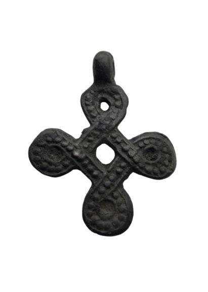 Rare viking openwork cross