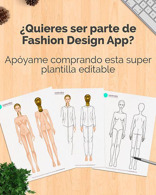 Plantilla de figurín con prendas básicas para diseñar vestuario ai y ...
