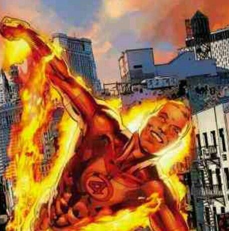 Human Torch: Johnny Storm is the son of physician Franklin ...