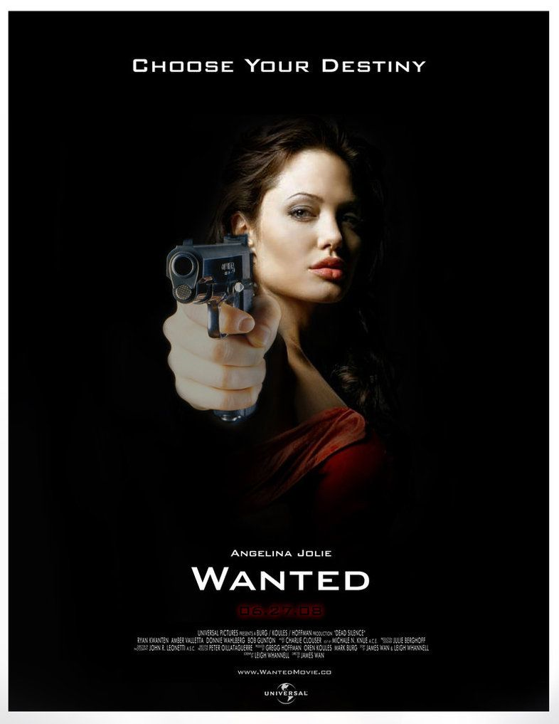 Wanted Movie Poster By Tylerbxgroz On Deviantart Wanted Movie Film Posters Cinema Movie Posters