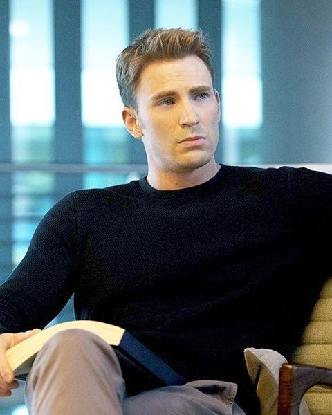 I Really Like Steve Rogers Haircut Same Avengers Pinterest