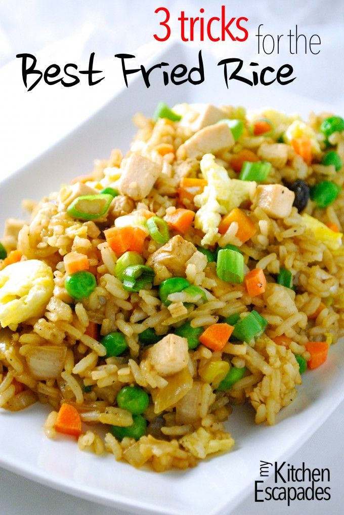 The Best Chicken Fried Rice Recipe Recipes Fried Rice Rice