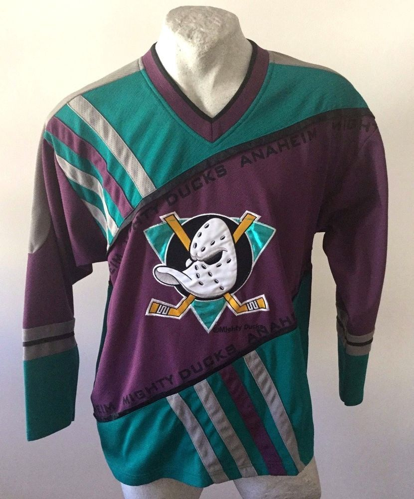 the best attitude 437a8 c3cfe MAGLIA NHL ANAHEIM MIGHTY DUCKS ICE HOCKEY SHIRT #26 CMP ...
