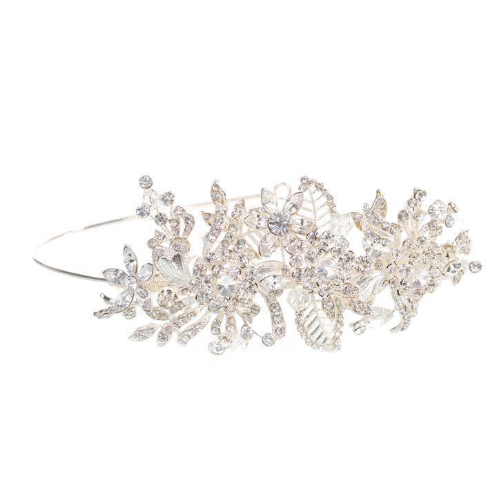 Ivie Diamante Side Tiara Ivie Diamante Side Tiara £88.00 Blossom Tiaras - £88.00 : Blossom Tiaras