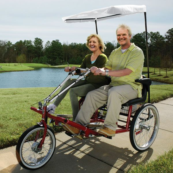 Dual Seat Adult Tricycles Adult Tricycle Tricycle Tricycle Bike