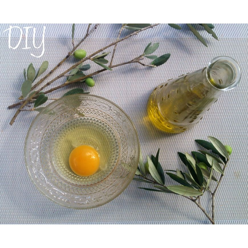 diy masque pour r parer vos cheveux huile d 39 olive et oeuf diy pinterest. Black Bedroom Furniture Sets. Home Design Ideas