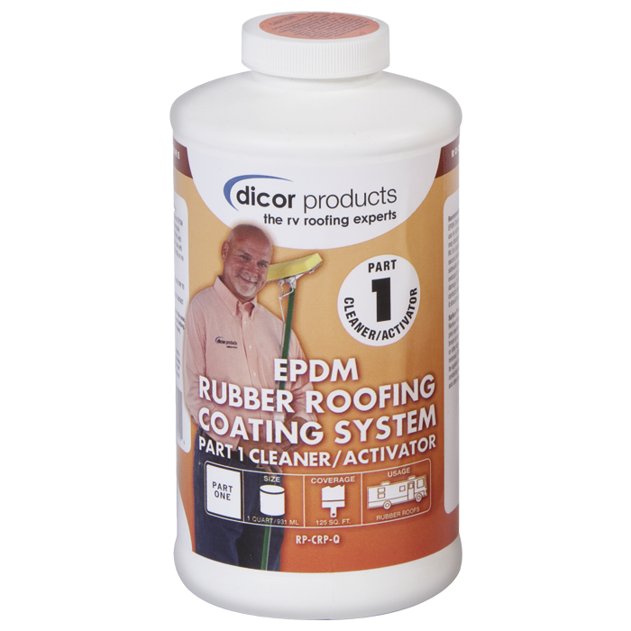 Epdm Acrylic Rubber Roof Coating Cleaner Activator Part 1 Rubber Roof Coating Roof Coating Epdm Roofing