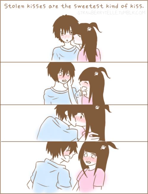 imagini anime kiss Google Search Anime kiss, Anime
