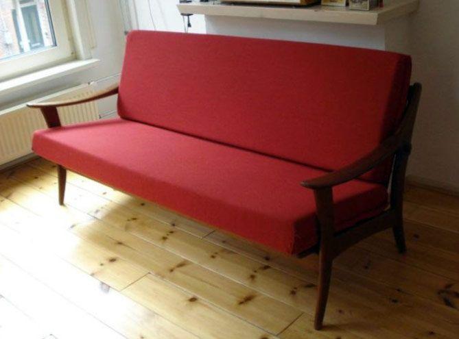 Deens Design Vintage Bank.Vintage Retro Bank Scandinavisch Design Fifties Sixties Teak