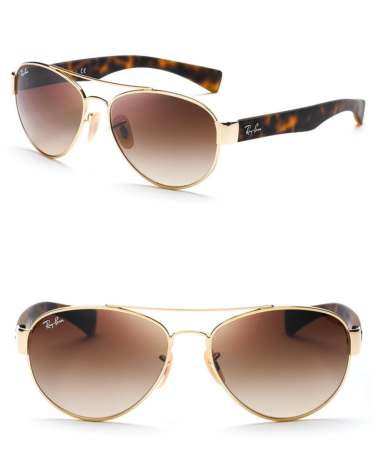 Ray-Ban Rounded Aviator Sunglasses   Bloomingdales. i want this one hihi c6e9471e3fac