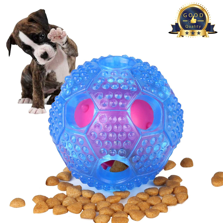 Santiaotui Interactive Dog Toy Iq Treat Ball Food Dispensing Toys