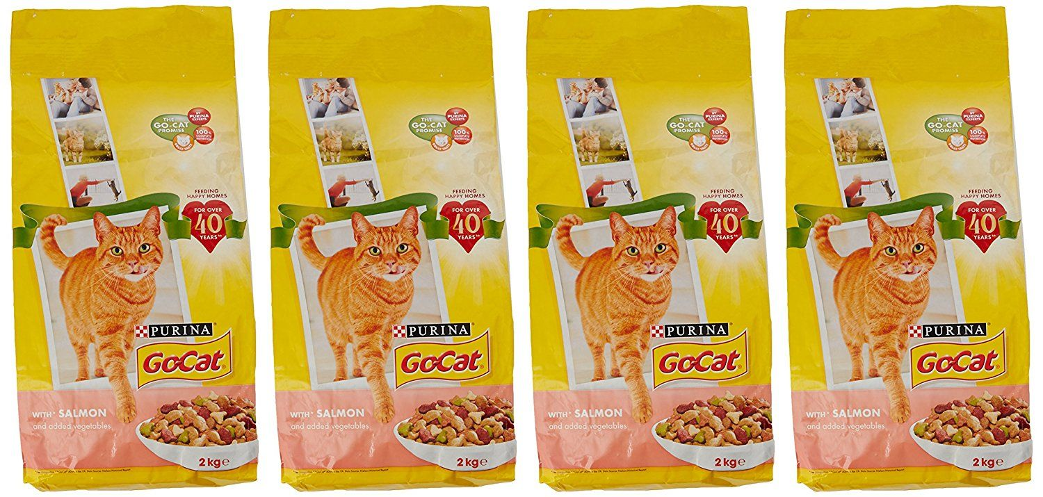 Go Cat Adult Salmon And Vegetables 2kg Pack Of 4 Check Out This Great Product This Is An Affiliate Link Dogs Dog Food Dog Food Recipes Cat Foo