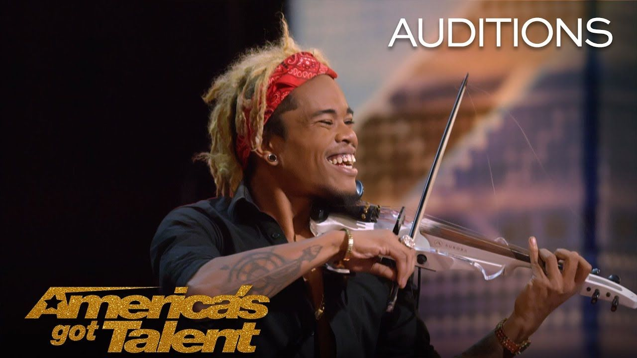 Brian King Joseph Electric Violinist Stuns With Talent America S Got Talent 2018 America S Got Talent America S Got Talent Talent