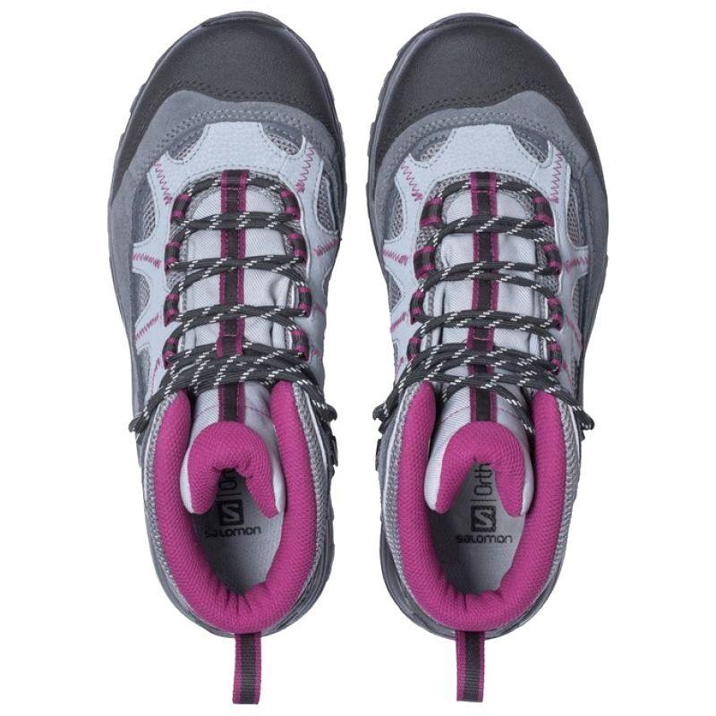 Buty Trekkingowe Salomon Authentic Ltr Szare Czarne Boots Hiking Boots Hiking Boots Women