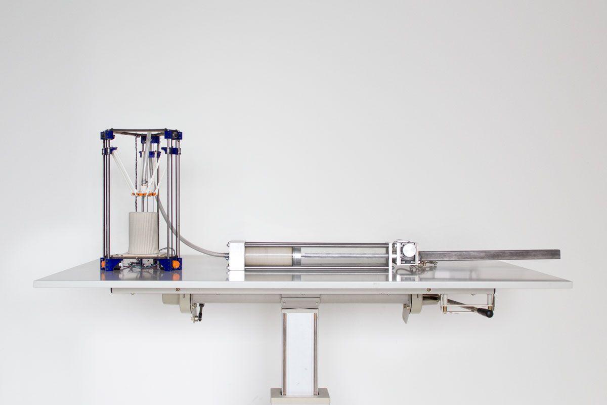 3D printing ceramics printer and extruder 3d printing