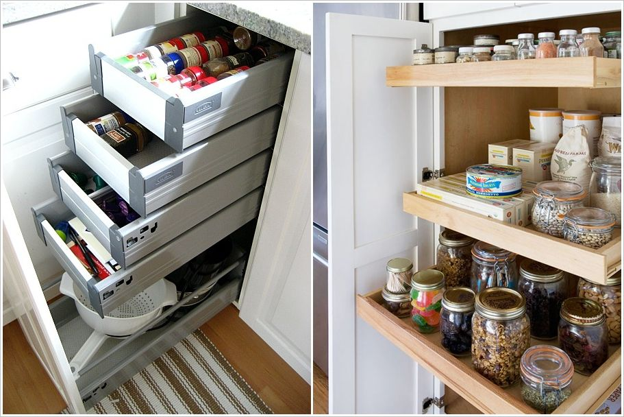 10 clever ideas to organize inside your kitchen cabinets 3 | new