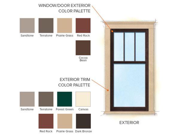 Exterior Window Colors craftsman bungalow exterior colors   craftsman interior design