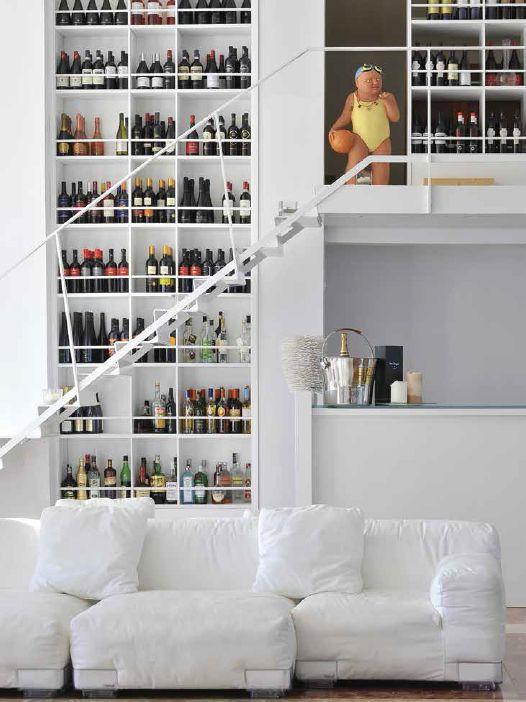 Sofa Plastics Duo by Piero Lissoni | Pure whiteness Ristorante Alle ...