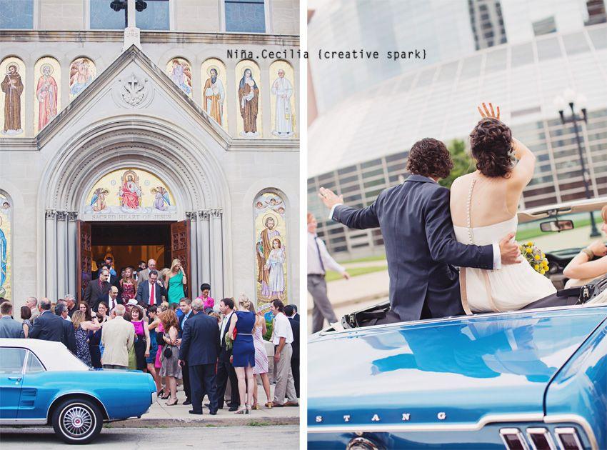 ceremony sacred heart churchreception elm building pella iowa peoria dubuque pinterest