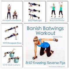 banish batwings workout health fitness  underarm
