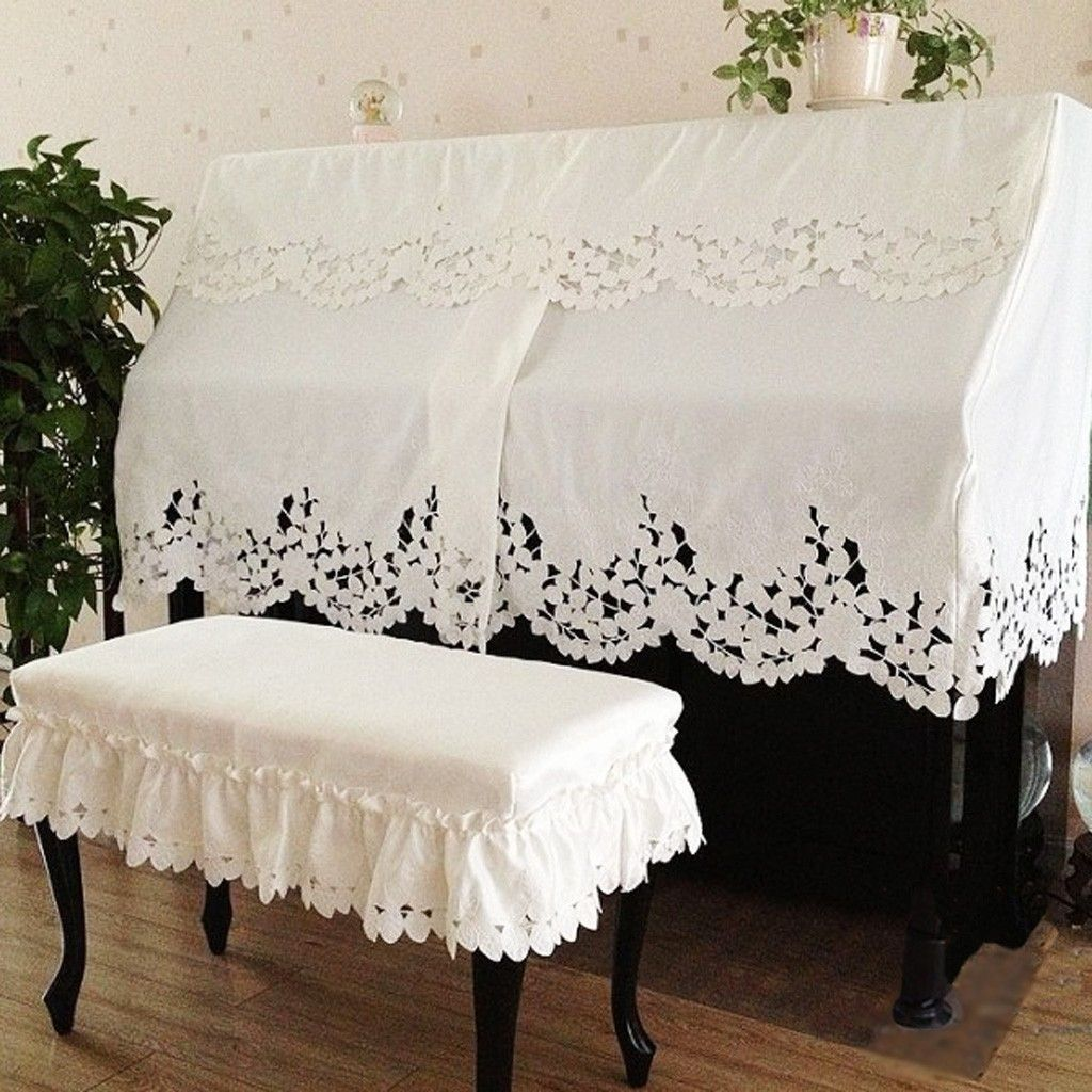 Phenomenal Elegant Piano Cover White Piano Bench In 2019 Piano Uwap Interior Chair Design Uwaporg