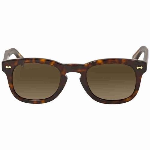 80d5226a7f2 Gucci Brown Square Sunglasses GG0182S 003 49