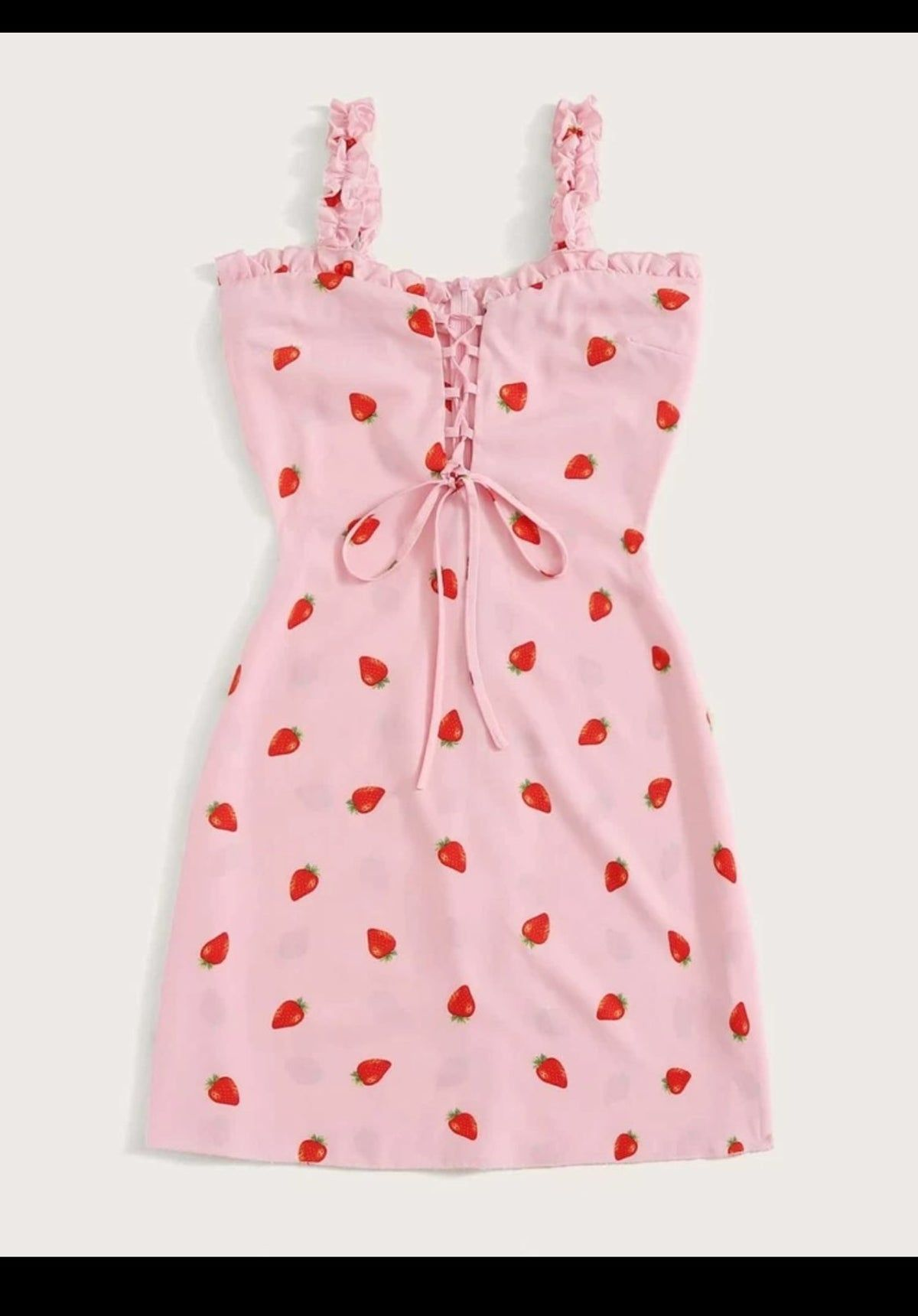 Strawberry Dress Fashion Girls Fashion Clothes Kawaii Fashion Outfits [ 1720 x 1200 Pixel ]