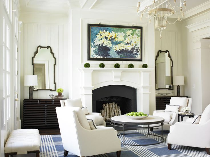 Things We Love Seating For 4 Design Chic Family Room Living Room Designs Rugs In Living Room #no #couch #living #room #ideas