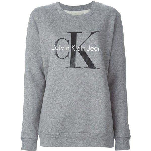 Calvin Klein Jeans Logo Sweatshirt Calvin Klein Jumper Calvin Klein Sweatshirts Printed Sweatshirts