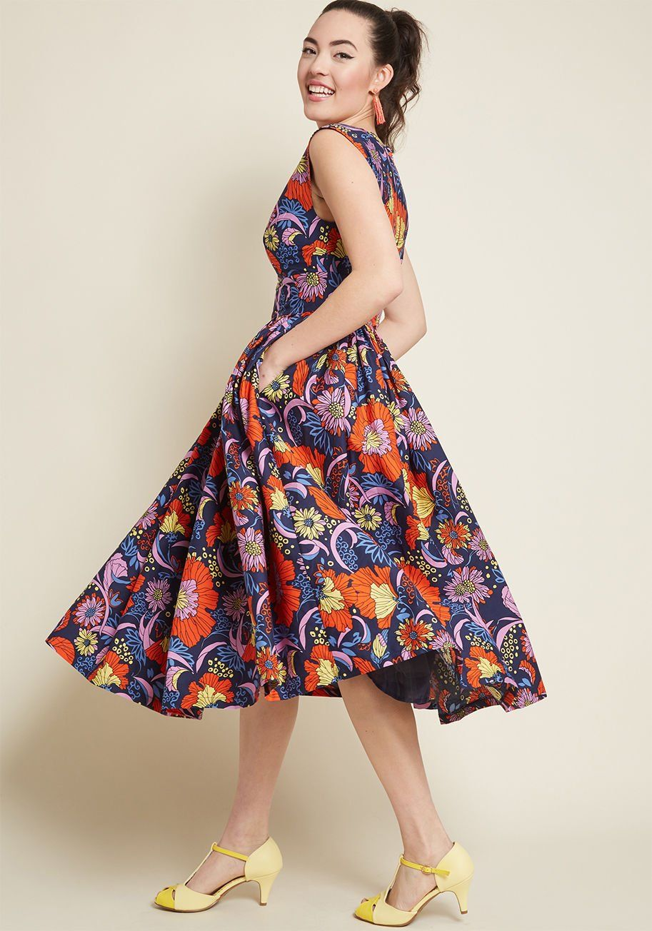 37d91899dcd0 Fabulous Fit and Flare Dress with Pockets in 2019 | Looks We Love ...