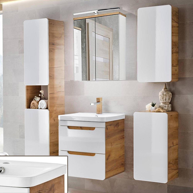 Gunstige Badmobel Fur Kleine Bader Badezimmermobel Weiss Badezimmer Hochschrank 30 Cm Breit Gunstige Badezimmer Mobel Badezimmer Set Badezimmer Renovieren