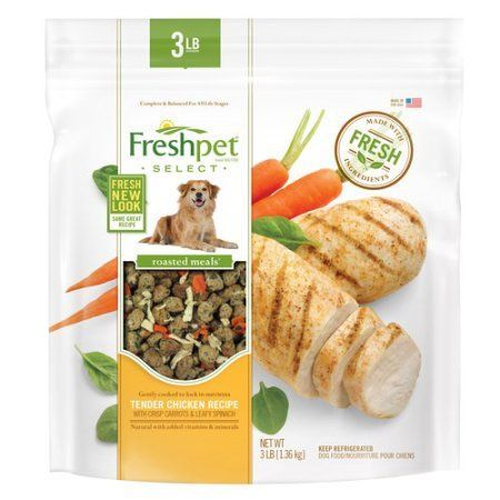 Freshpet select roasted meals chicken recipe with carrots freshpet select roasted meals chicken recipe with carrots spinach dog food 30 lb dog food walmart and products forumfinder Image collections